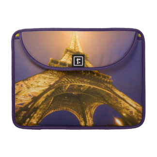 France, Paris. Looking up from base of Eiffel MacBook Pro Sleeves