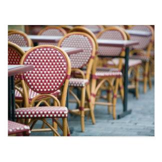 FRANCE, PARIS, Montmartre: Place du Tertre, Cafe Postcard