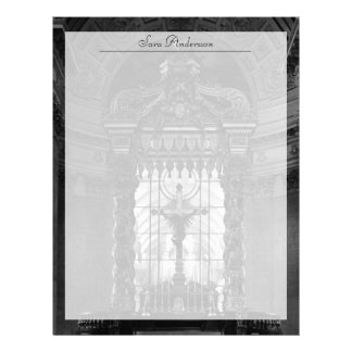 France Paris royal chapel altar St James Palace Letterhead