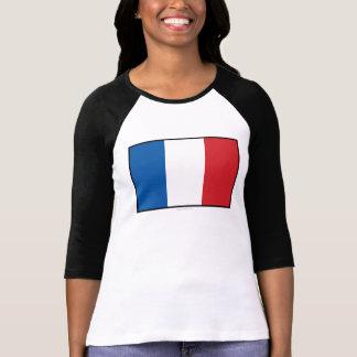 France Plain Flag T-Shirt