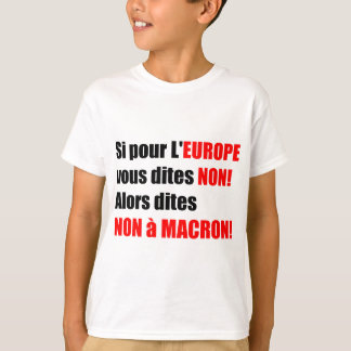 France Presidential Elections 2017 - KidsTee T-Shirt