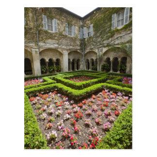 France, Provence, St. Remy-de-Provence. Garden Postcard