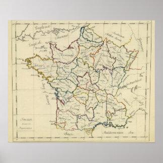 France provinces poster