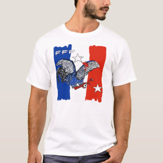 France Quest for Brazil World Cup 2014 T-Shirt