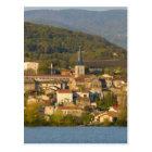 France, Rhone River, town near Vienne Postcard