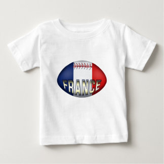 France Rugby Ball Baby T-Shirt