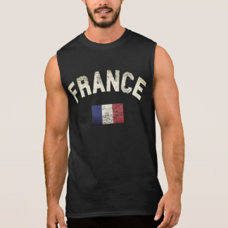 France Sleeveless Shirt