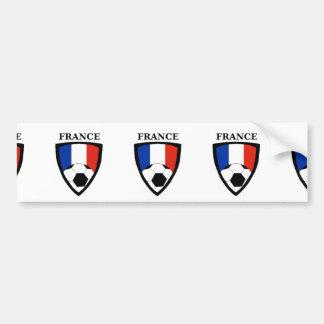 France Soccer Bumper Sticker