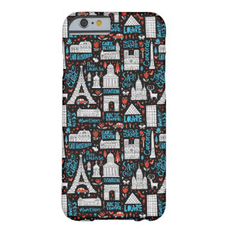 France | Symbols Pattern Barely There iPhone 6 Case
