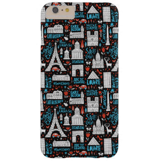 France | Symbols Pattern Barely There iPhone 6 Plus Case