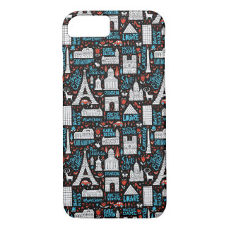 France | Symbols Pattern Case-Mate iPhone Case