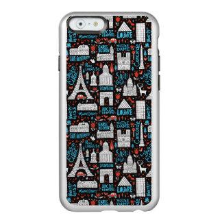 France | Symbols Pattern Incipio Feather® Shine iPhone 6 Case
