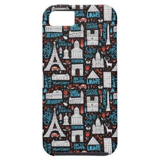 France | Symbols Pattern iPhone 5 Cases