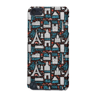 France | Symbols Pattern iPod Touch (5th Generation) Case