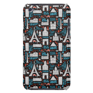 France | Symbols Pattern iPod Touch Case-Mate Case