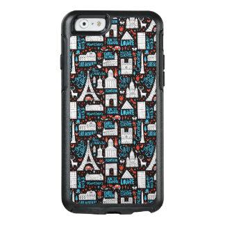 France | Symbols Pattern OtterBox iPhone 6/6s Case
