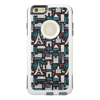 France | Symbols Pattern OtterBox iPhone 6/6s Plus Case
