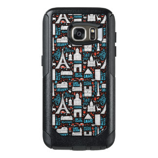 France | Symbols Pattern OtterBox Samsung Galaxy S7 Case