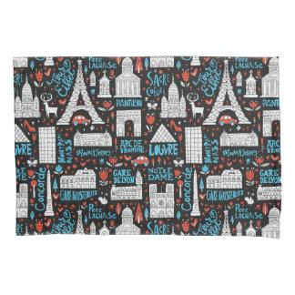 France | Symbols Pattern Pillowcase