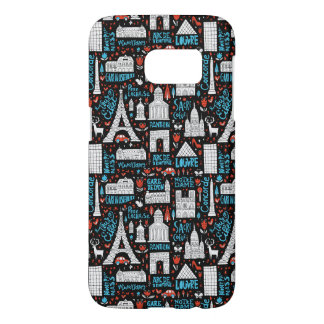 France | Symbols Pattern Samsung Galaxy S7 Case