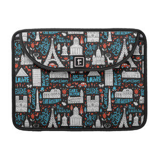France | Symbols Pattern Sleeve For MacBook Pro
