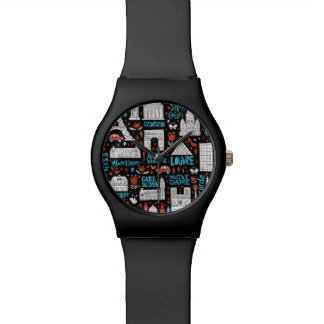 France | Symbols Pattern Watch