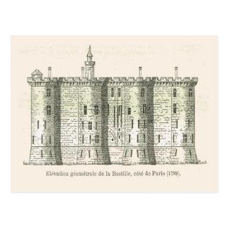 France,  The Bastille in 1789 Postcard