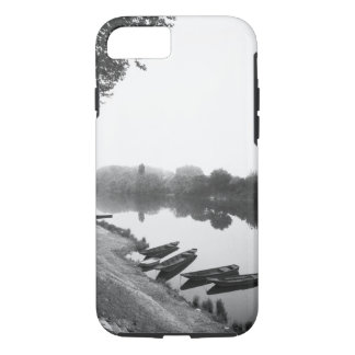 FRANCE, Touraine, The Loire: CHINON Boats along iPhone 7 Case