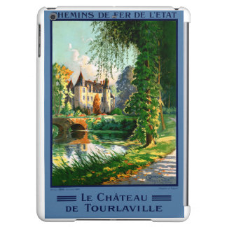 France Tourlaville Restored Vintage Travel Poster Case For iPad Air