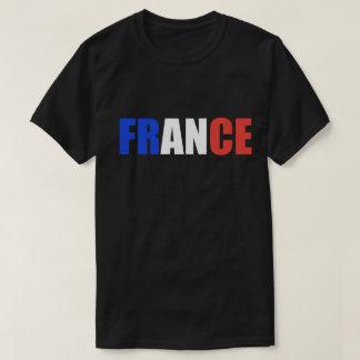 FRANCE Tricolor Flag T-shirt