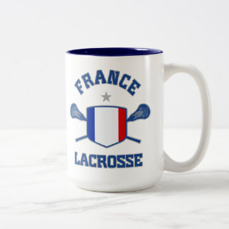France Two-Tone Coffee Mug