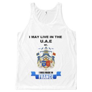 France unisex tank-Dubai