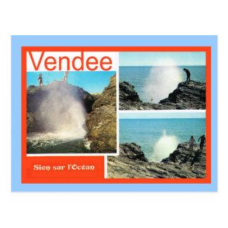France, Vendee, Sion sur l'Ocean Postcard