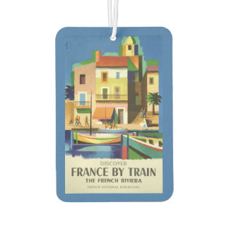 FRANCE Vintage Travel air freshner Air Freshener