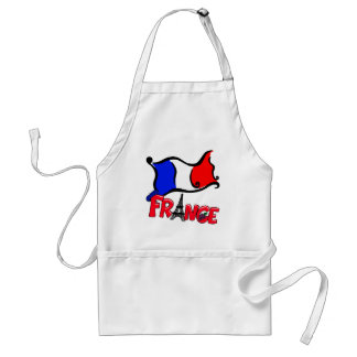 France with Flag Products Standard Apron