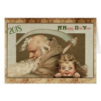 Frances Brundage New Year Card