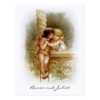 Frances Brundage: Romeo and Juliet Postcard