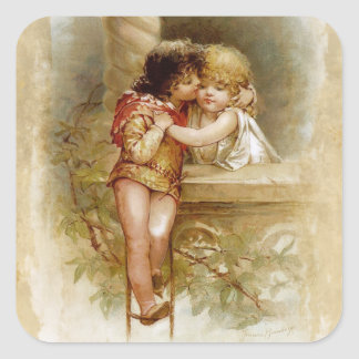 Frances Brundage: Romeo and Juliet Square Sticker