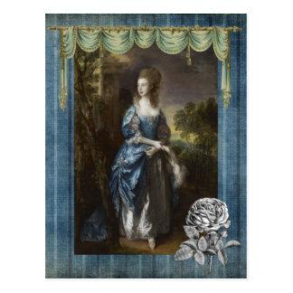 Frances Duncombe Postcard