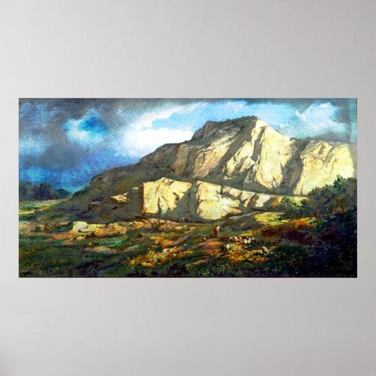 Francesc Torrescassana - Landscape Poster