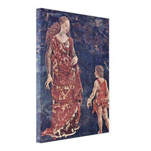 Francesco del Cossa - Allegory of Fertility Gallery Wrapped Canvas