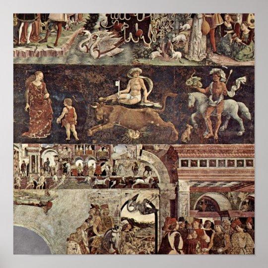 Francesco del Cossa - Triumph of Venus Poster