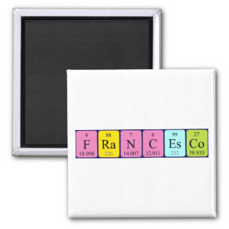 Francesco periodic table name magnet