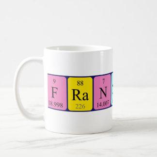 Francesco periodic table name mug