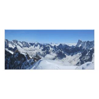 Franch Alps Chamonix panorama Photo Print