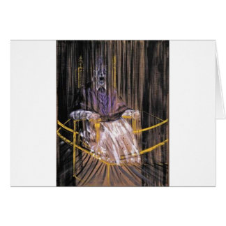 Francis Bacon - Screaming Popes Card
