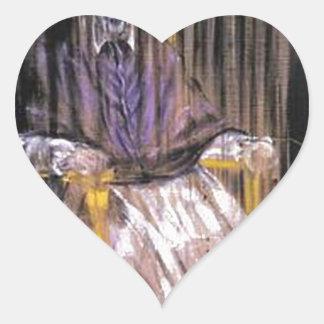 Francis Bacon - Screaming Popes Heart Sticker