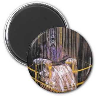 Francis Bacon - Screaming Popes Magnet