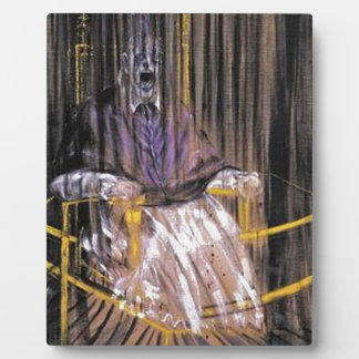 Francis Bacon - Screaming Popes Plaque