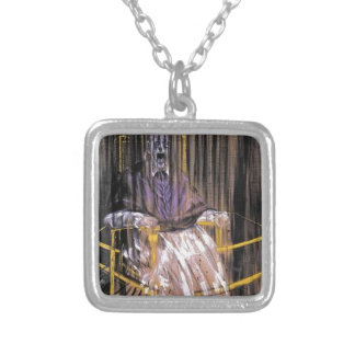Francis Bacon - Screaming Popes Silver Plated Necklace